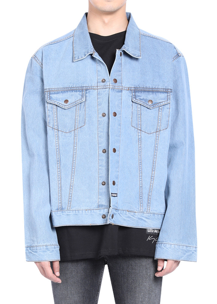 Les(art)ists 17FW Demna SAVE FASHION Denim Jacket