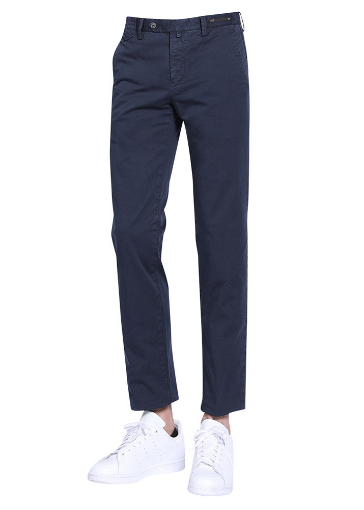 PT01 18SS Oneout Superslim Chino Trousers [Navy]