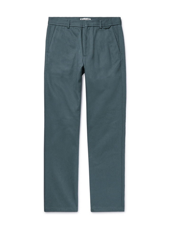 Acne Studios 18SS Aleq Chino Pants [Balsam Green]
