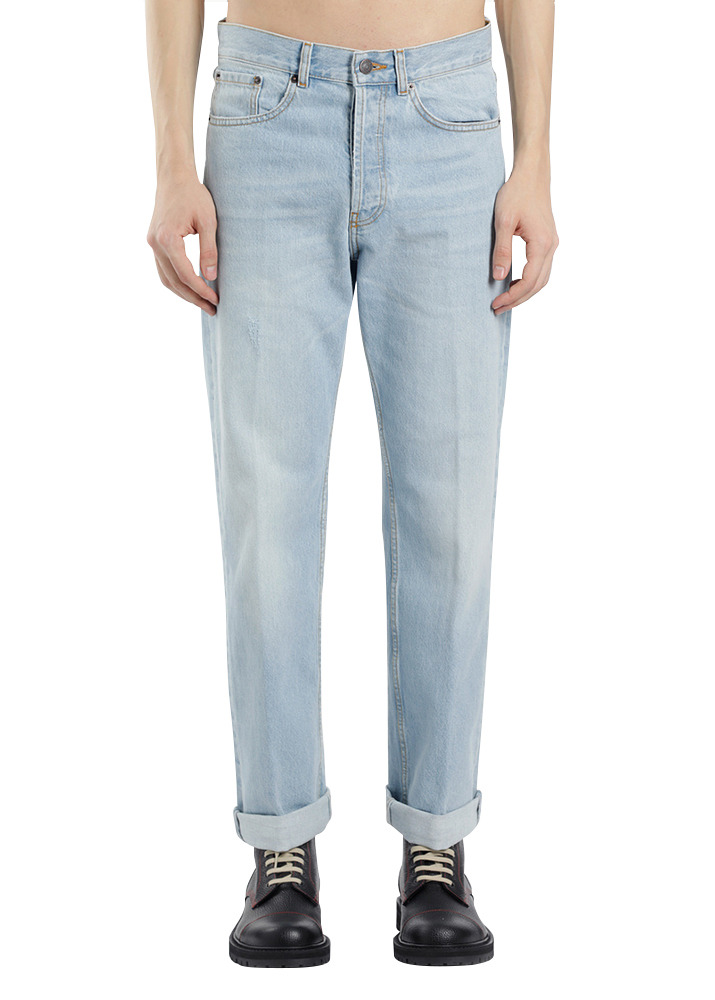 Dries Van Noten 18SS Panthero Denim