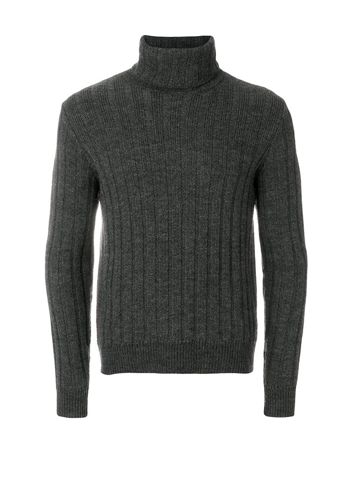 AMI 18FW Turtleneck Knit [Charcoal Grey]