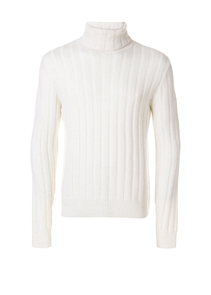 AMI 18FW Turtleneck Knit [White]