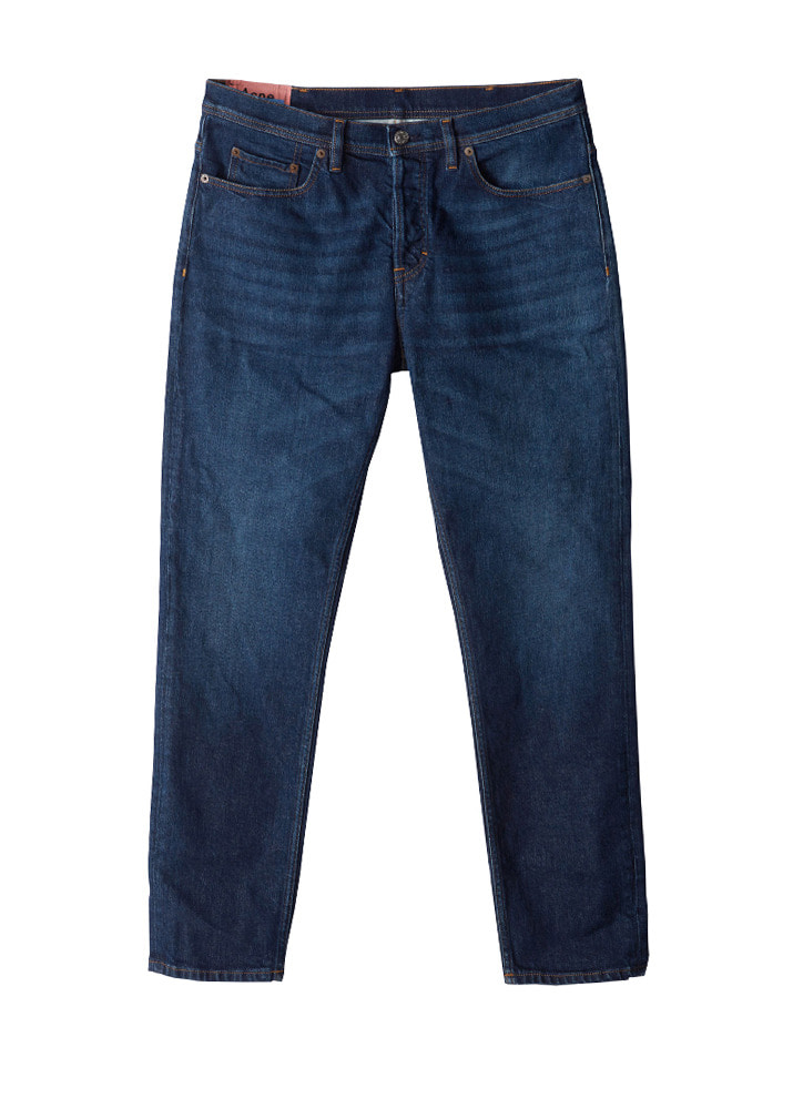 Acne 18FW Blå Konst River Dark Blue Jeans